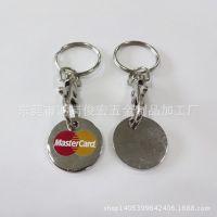 工厂生产铁质代币钥匙扣 吊饰挂件车标代币钥匙扣 烤漆钥匙扣定做
