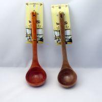 促销批发供应厂家直销优质日式餐具 家用汤勺 实用木勺27CM*8CM
