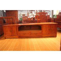 红木家具电视柜花梨木客厅组合地柜全实木视听柜明清仿古古典