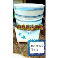 信达底价供应芝麻酱石磨机 优质豆浆电动石磨机