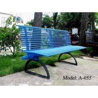 广州厂家现货销售公园长条椅,景观长铁椅子,户外长条凳