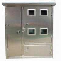 网联电气供应不锈钢配电箱12户单相电表箱三相户外水表箱2户4户6户8户10户15户