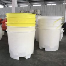 浙江手推车印染布桶 印染铲车桶 圆形叉车桶厂家
