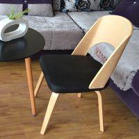 [杰森家具]时尚宜家pu坐面休闲酒店餐椅电脑椅纳尔逊椅子厂家批发