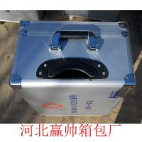 吉林铝箱定做 银灰色铝塑板带拉杆高档仪器测试箱