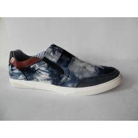 德商新款时尚洗水布休闲滑板男士潮流单鞋工厂价直销