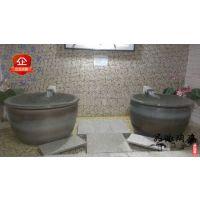 品派养生瓷坊直销定制加工各种浴场澡缸 陶瓷浴缸 高档泡澡缸 青瓦水台澡缸