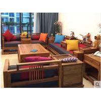 名琢世家主要产品刺猬紫檀花梨木新中式沙发组合