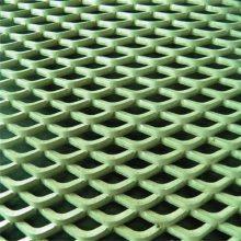 菱形板网 镀锌板菱形网 工程脚手架
