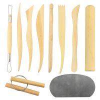 10件套雕塑工具套装/陶艺工具雕刻工具泥塑工具/学生儿童套装工具