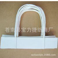 供应白色纸绳 手提纸袋配套纸绳 现货批发