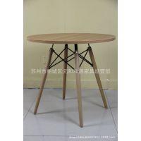 供应茶餐厅快餐厅圆形桌子洽谈桌休闲桌木质餐桌家用不锈钢圆桌