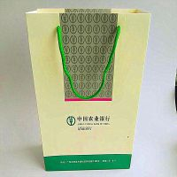 厂家定做广告手提彩盒可印Logo 清远彩色印刷手挽袋加工厂 批发