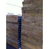 沈阳彩钢岩棉/玻璃丝绵防火保温复合板夹心板