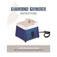 DIY专用小型磨台迷你电动工具自动上水磨边机 研磨玻璃陶瓷220110V