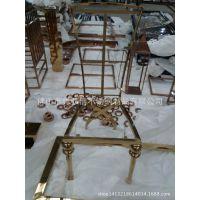 餐厅不锈钢椅子/桌子 欧式豪华不锈钢椅厂家定做