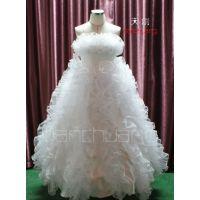 天创LED礼服 发光服夜光婚纱 LED荧光服 舞台造型服舞蹈发光服饰
