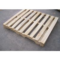 供应 君众包装 寿光优质木托盘 松木单面可四面进叉出口专用托盘