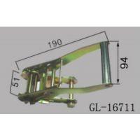 解放半挂车配件紧蓬器 东风半挂车紧蓬器彩镀锌GL-16711