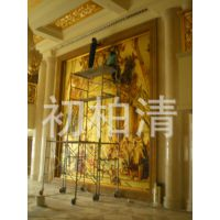 豪华酒店、宾馆、私人会所 大堂铜壁画生产厂家