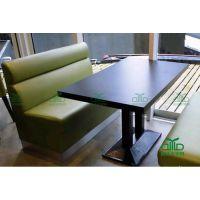 专业订做卡座沙发 咖啡厅双人卡座沙发 茶餐厅卡座 工厂价批发