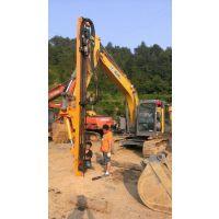 地基工程专业钻孔设备、替代人工钻孔挖改液压钻机