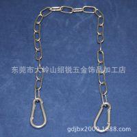 3.0不锈钢吊链304 应急灯挂链 安全出口专用吊链 日光灯支架吊链