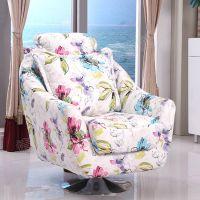 简约布艺单人沙发懒人沙发小户型沙发卡座酒店咖啡厅沙发椅