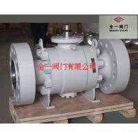 Q41F-100P/R 不锈钢高压浮动法兰锻钢球阀 不锈钢高压A105球阀