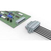 PCB弹簧防震接线端子 配电柜在专用插拔弹簧式端子排 LSC1 LSZ1