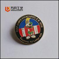 哪里有订做五金徽章的厂家,深圳专业金属徽章厂在哪,公司LOGO胸牌定做