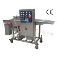 专业生产汉堡肉饼上浆机鸡柳条挂浆机有为机械
