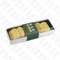玖儿烘焙包装 6粒高档寿司盒 一次性透明吸塑包装盒 糕点打包盒