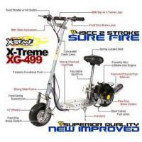 X-Treme Gas Scooter XG 499