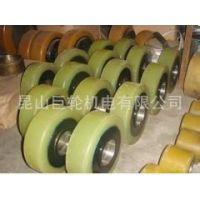 厂家专业定做,包胶轴,包胶滚筒,包胶轮,进口聚氨酯PU胶