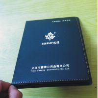 定制笔记本带logo 记事本 定制 定做胶套本册封面烫金字
