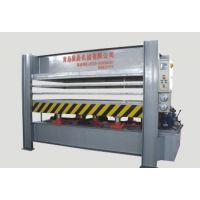 国森机械专业生产铝/纸蜂窝板压机系列设备