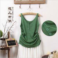 2015夏季新女款针织吊带小背心 休闲纯棉宽松打底衫 外贸服装批发