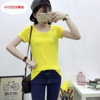 广州t恤厂家女装批发市场韶关夏季短袖蝙蝠袖条纹上衣女装批发