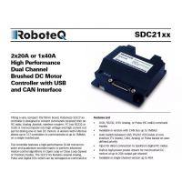 供应美国Roboteq伺服驱动器直流30V 持续120A电流有刷MDC2230S