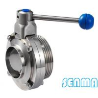 SENMA卫生级单焊单螺纹蝶阀