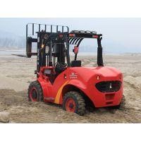 出租专用四驱叉车生产厂家 3.5吨