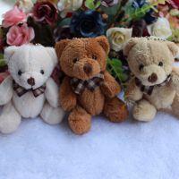 热卖小熊毛绒公仔手机和钥匙挂件 包包挂件可爱小熊娃娃批发