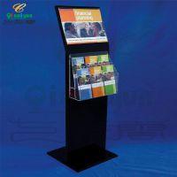 亚克力资料展示架 立式书报架 有机玻璃展示牌 4S店广告牌参数牌