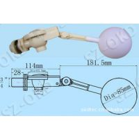 """OKD-DN20塑料浮球阀3/4"""" 寸 原厂正品/6分水箱浮球阀 水箱配件"""