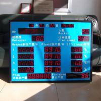 LED室内高亮数码管车间产量自动统计电子看板显示屏 工厂直供 工业品质