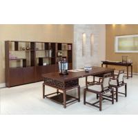 广东办公家具定制批发,实木办公桌椅配套,国景家具
