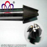 定做各种钨钢焊接硬质合金刀片倒角刀/镶合金倒角铣刀3刃4刃6刃