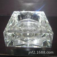 深圳制厂亚克力水晶烟灰缸 时尚创意个性礼品 欧式烟缸透明款