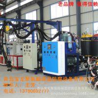 建筑墙体保温板材设备PLC人机界面PU聚氨酯高压发泡机械